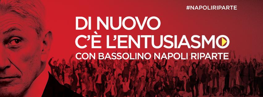 Campagna Bassolino - FB copertina sostenitori