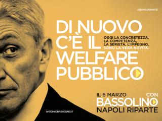 Manifesti Bassolino - Welfare