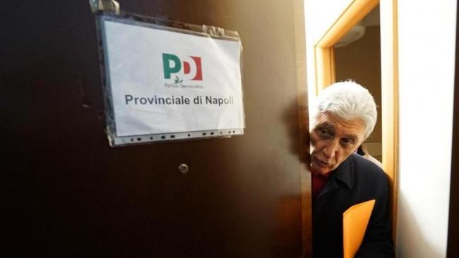 Bassolino al PD Napoli