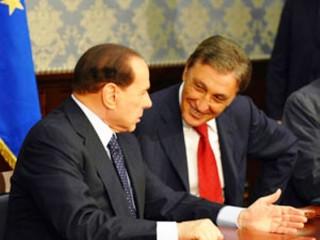 Bassolino e Berlusconi